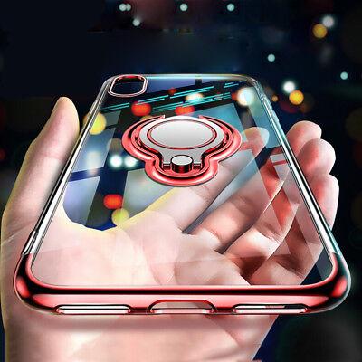 HANDY Hülle für Apple iPhone 6 6s 7 8 Plus + Panzerfolie Cover Case Ring