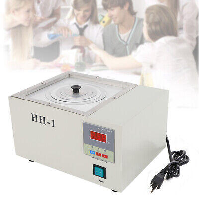 Hh-1 Digital Lab Thermostatic Water Bath Single Hole Electric Heating 110v Usa