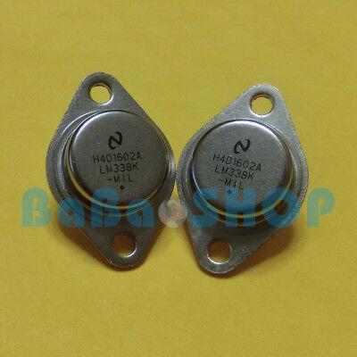 8pcs Lm338k Lm338 Insulating Silicone Pad 5a Adjustable Voltage Regulator Ns