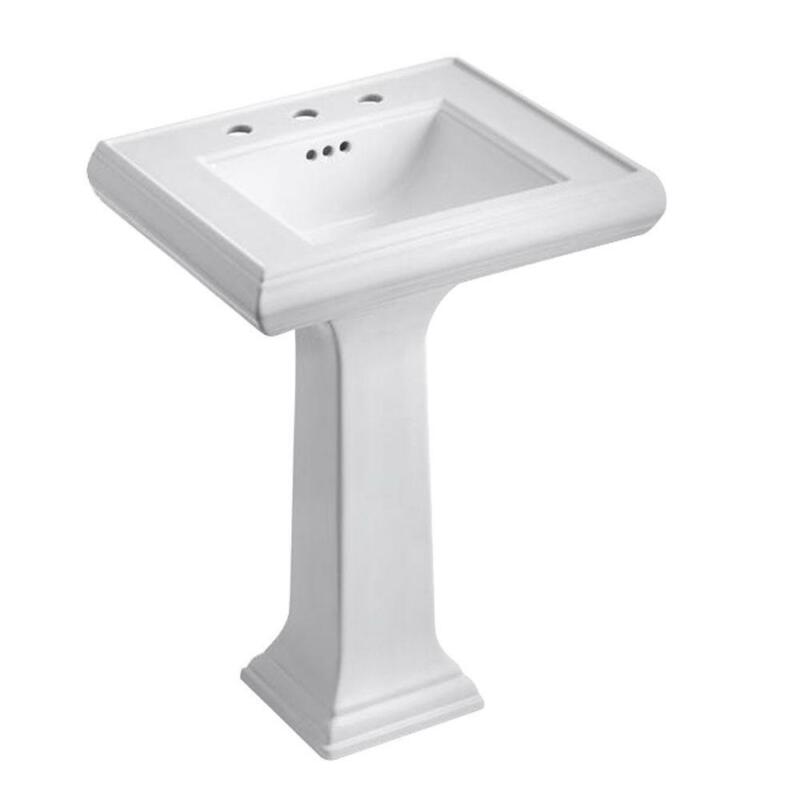 Kohler Bathroom Sink Combo Memoirs Ceramic Pedestal Classic