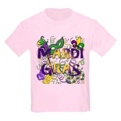 CafePress MARDI GRAS Kids Light T Shirt Kids Light T-Shirt (766387859)](Kids Mardi Gras Shirts)