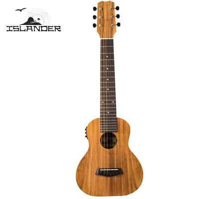 Islander by Kanile'a GL6-EQ Satin 6 String Acoustic Electric Guitarlele Ukulele, usado segunda mano  Embacar hacia Argentina