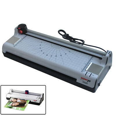 A3 Multi-functional 2 In 1 Photo Thermal Cold Pouch Laminator Paper Trimmer