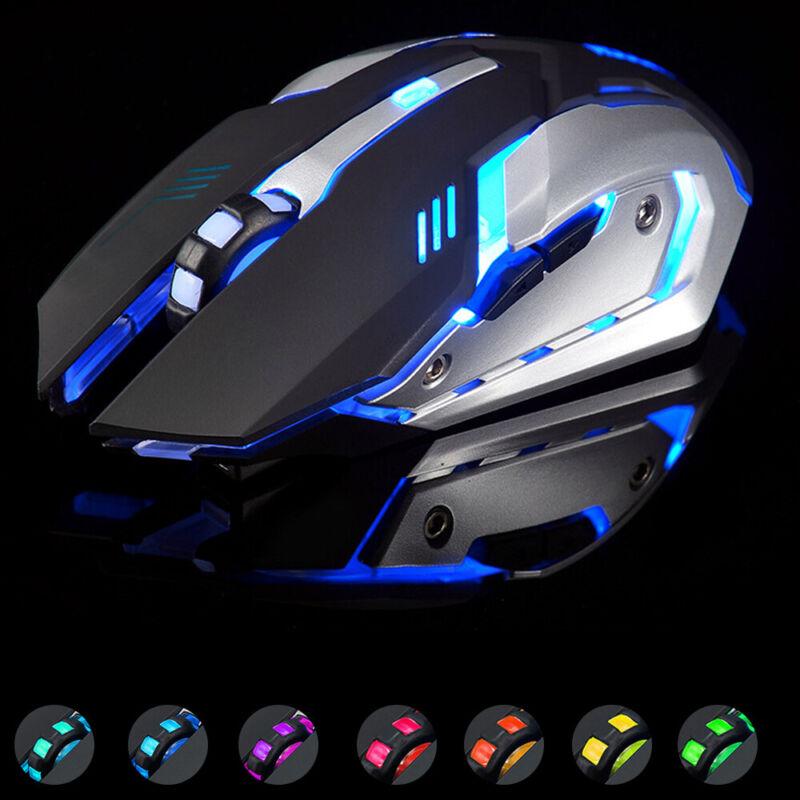 Kabellose optische 3 Tasten Funkmaus 1600dpi für PC, Notebook,Laptop,Gaming Maus