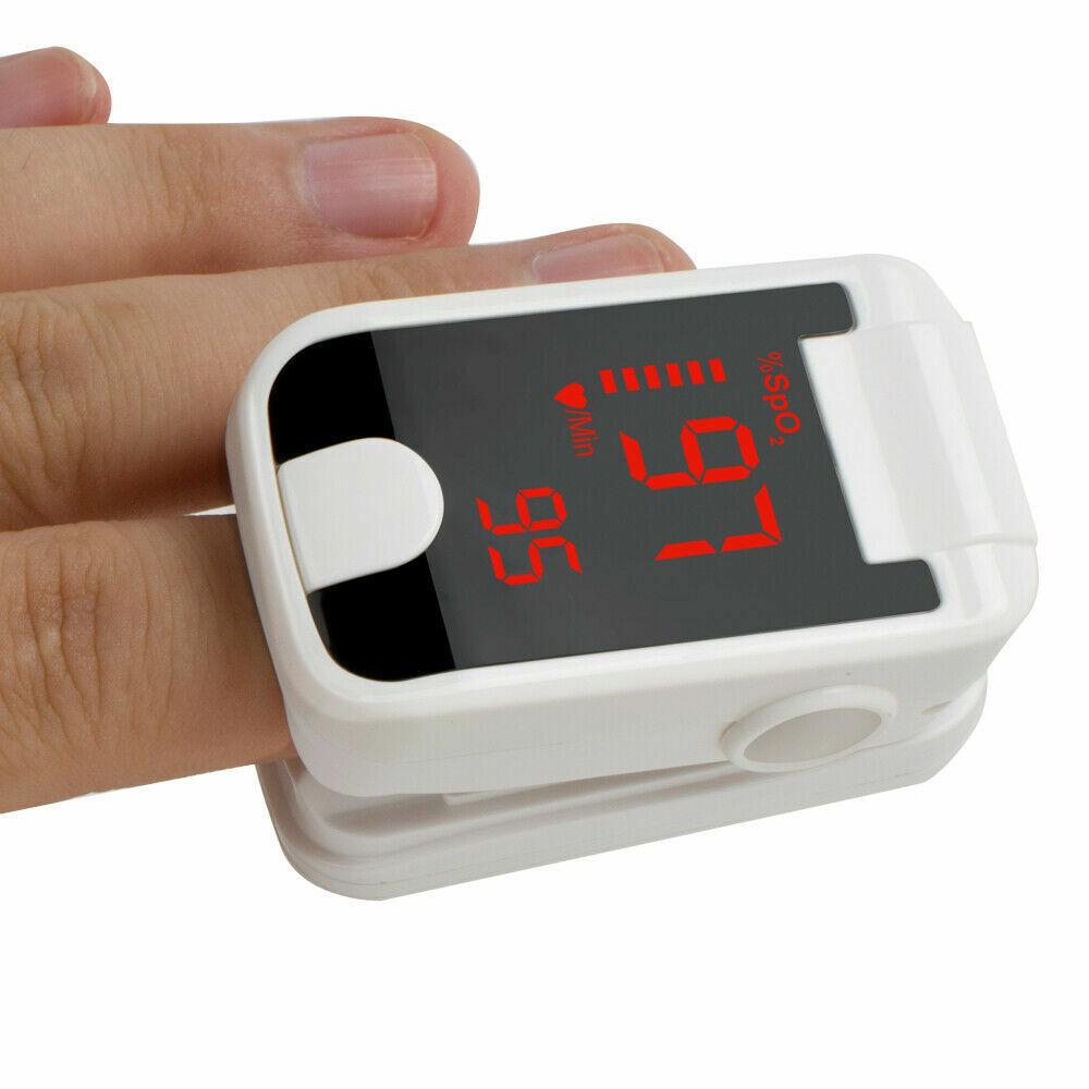 LED Finger Pulse Oximeter Blood Oxygen meter SpO2 Heart Rate