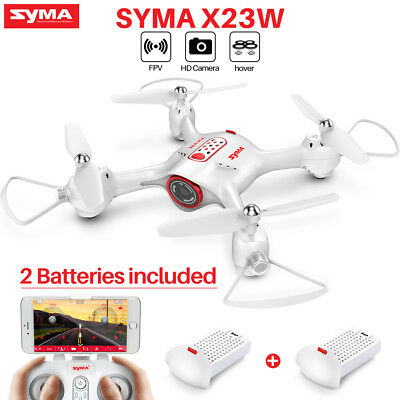 SYMA X23W FPV WIFI Camera RC Quadcopter Drone 2.4G Altitude Hold LED Light New