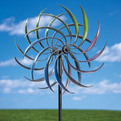 Metal Kinetic Rainbow Wind Spinner 74