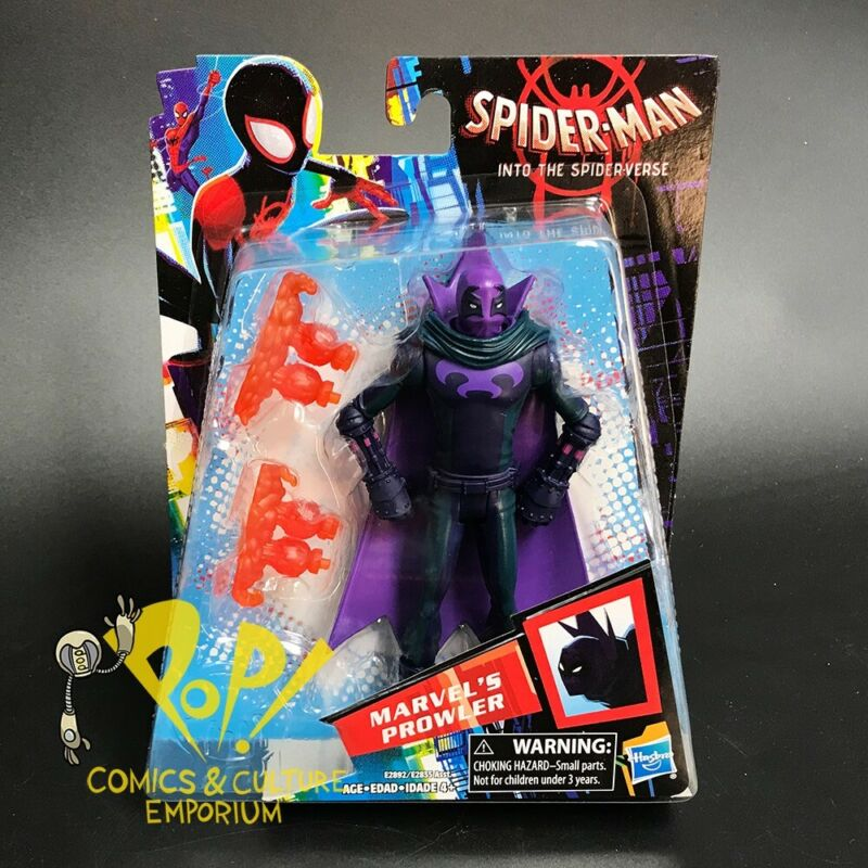 MARVEL/'S PROWLER Spider-Man Into the Spider-Verse 6-inch Figure NIP