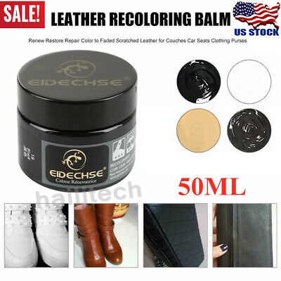 Leather Repair Filler Cream Restore Car Seat Sofa Scratch Scuffs Holes Repair US