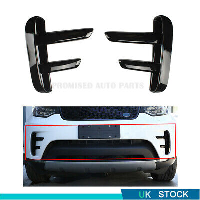 Front Bumper Vent Blade Finger Dynamic Design Pack For Land Rover Discovery 5