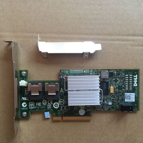 NEW Dell PERC H200 (IT-mode) 6Gb/s SAS/SATA Controller = LSI 9211 From US Ship