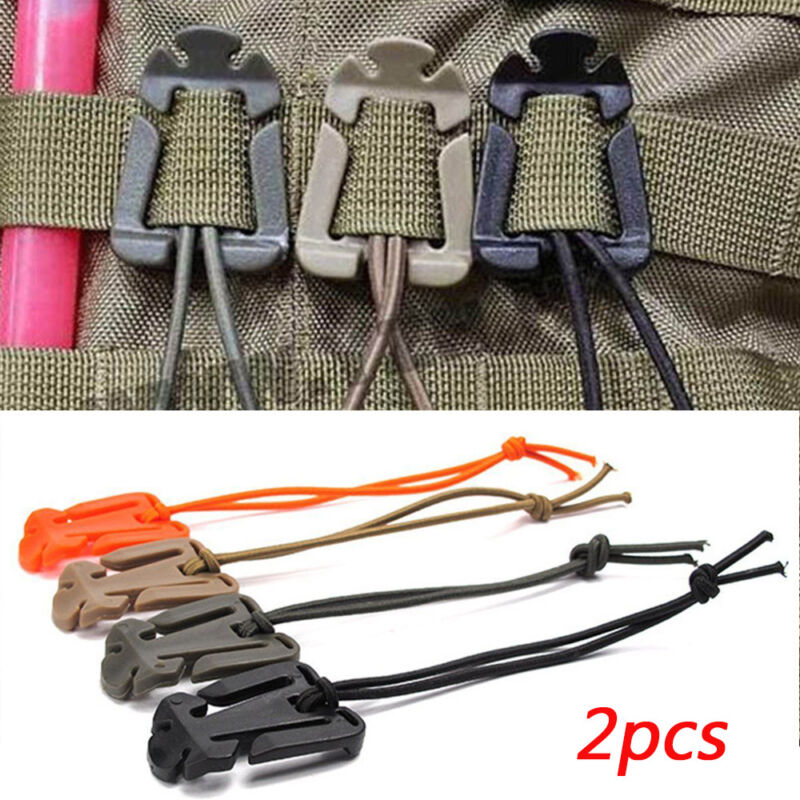 Light Weight Fixed Hooks Molle Buckle Backpack Carabiner Org