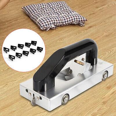 Pull Hand Groover U Type Blade PVC Floor Slotter Wheeled Groove Slotting Tool US