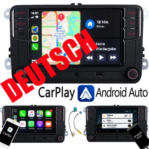 Deutsch Autoradio RCD330,BT,Carplay,Android Auto,USB Für VW GOLF 5 6 POLO PASSAT