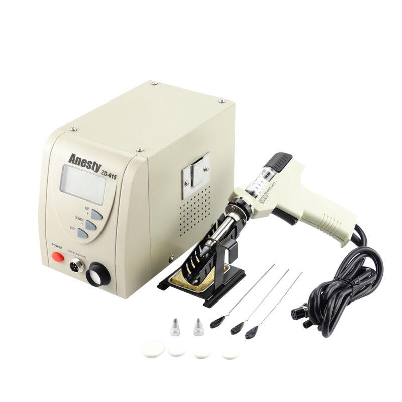 Pro Digital Desoldering Rework Station ZD-915 480℃ Iron Gun Built-in Vacuum Pump