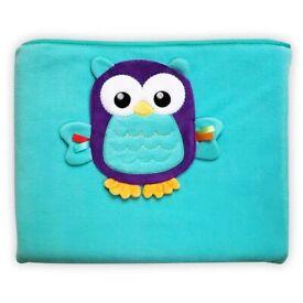 Fisher Price Woodland Travel Blanket - Owl