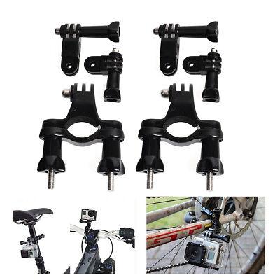 2x Bike Cycling Motorcycle Handlebar Seatpost Roll Bar Mount for GoPro Cam SJCAM