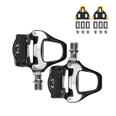 14f2b0d0955 RockBros Road Bike Clipless Bicycle Self-locking Pedals with SPD-SL Cleats