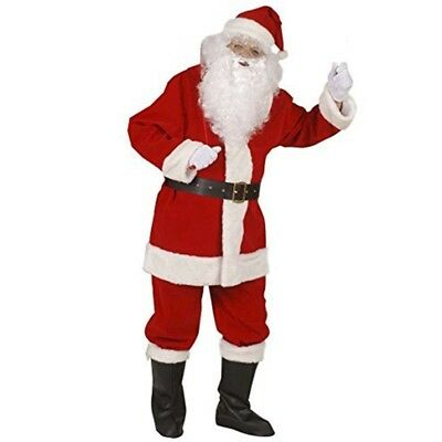 XL Professional Santa Suit In Window Box Costume Extra Large For Father - Claus
