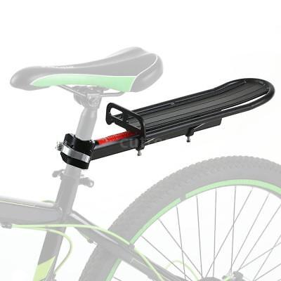 Bike Bicycle Carrier Rack Seat Post Rear Shelf Aluminum Alloy Quick-Release F7D0