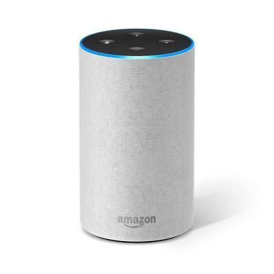 Amazon Echo (2. Generation), Lautsprecher mit Alexa - Sandstein NEU&OVP