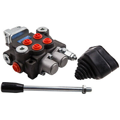 2 Spool Hydraulic Control Valve 11gpm Double Acting For Small Tractors 3600psi
