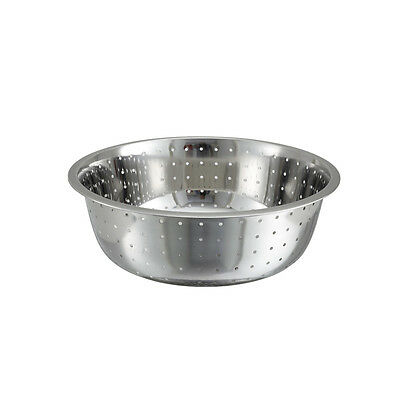 Winco Ccod-13l 13-inch Stainless Steel Chinese Colander With 5 Mm Holes