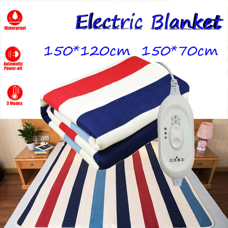 Winter Cover Warm Winter Electric Heated Blanket Heater Cont