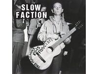 London Punk Rock Band, Slow Faction, Seek Drummer