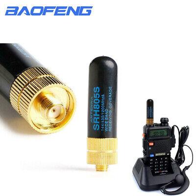5x SF20 VH F/& UHF Dual Band SMA Male Small Flexible Stubby Radio Antenna 7cm UE