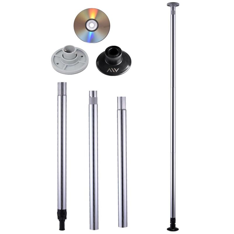 Portable Dance Pole Full Kit Stripper Club Exercise Fitness Dancing Party