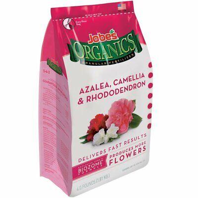 Jobe's Organics 09826 Azalea, Camellia, Rhododendron and Hydrangea - Jobes Azalea