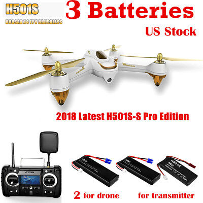 Hubsan H501S PRO X4 Drone FPV Brushless 1080P Camera Quadcopter GPS RTH US RTF