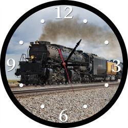 Big Boy Union Pacific 4014 Round Clock Train Railroad