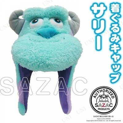 SAZAC Disny Sulley Monsters Inc CAP Fleece Costume Cosplay Unisex - Sulley Kostüm Monsters Inc