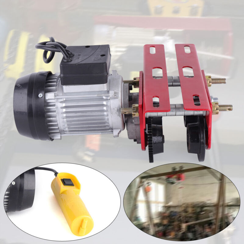 Electric Trolley Industrial Electric Hoist Trolley for Material Handling 0.5T US