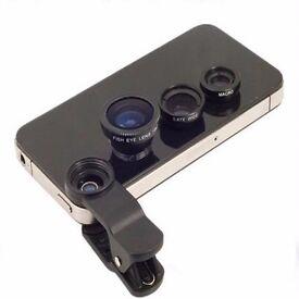 HD 3 in 1 UNIVERSAL Detachable camera lens
