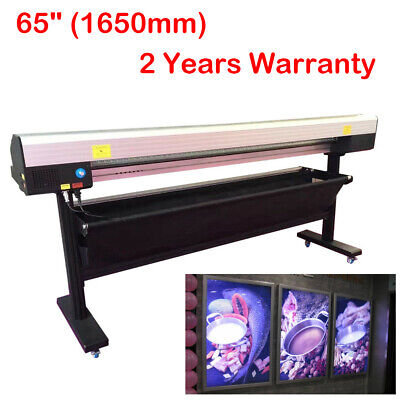 65 Electric Rotary Paper Trimmer Semi-auto Advertising Materials Cutter Pvc