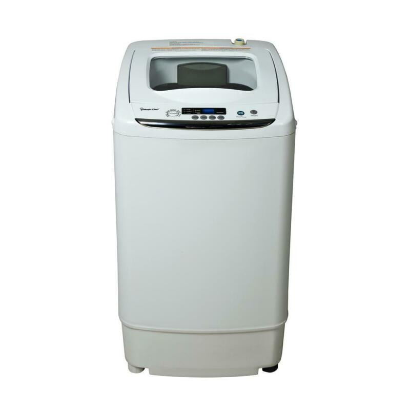 compact 0.9 cu ft. portable top load washer in white | magic
