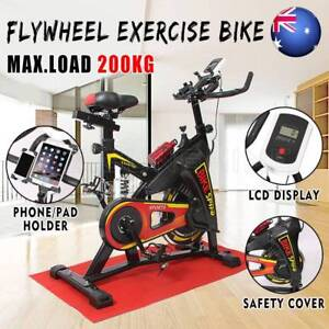 Commercial Spin Bike Flywheel Gym Fitness Brand New