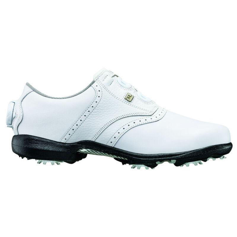 FootJoy Ladies Boa DryJoys Golf Shoes - White