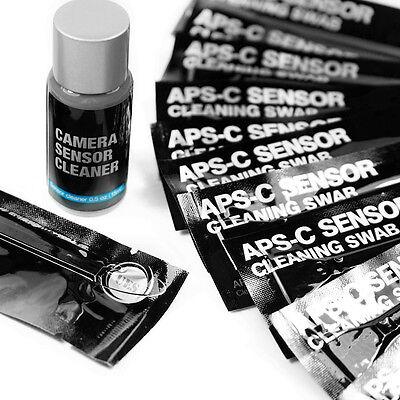 UES (CCD/CMOS) Digital Camera Sensor Cleaning Kit (14X16mm Swab + 15ml (Digital Sensor Cleaning Kit)
