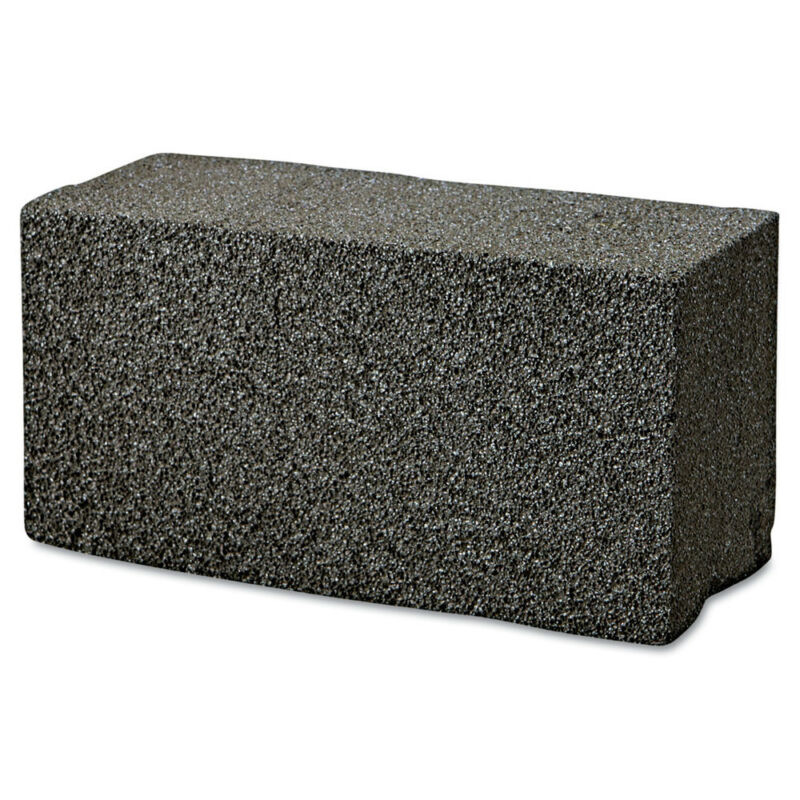 Boardwalk BWKGB12PC 12/Carton 8 in. x 4 in. Grill Brick - Black New