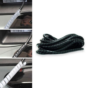 Spiral-Binding-Wrap-Wire-Cable-Desk-Tidy-Cables-Choose-Colour-Length