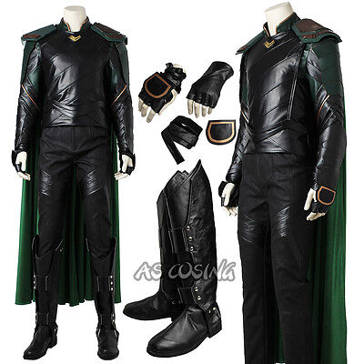 THOR Ragnarok Loki Cosplay Costume Halloween Outfit Top Class Halloween Costume](Loki Halloween Costumes)