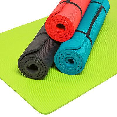 Tappetino Yoga Fitness Tappeto Aerobica Ginnastica Materassino