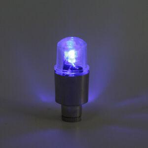 Blue LED Tyre Tire Valve Caps Neon Light Motorcycle Bike #2: $ 35 JPG