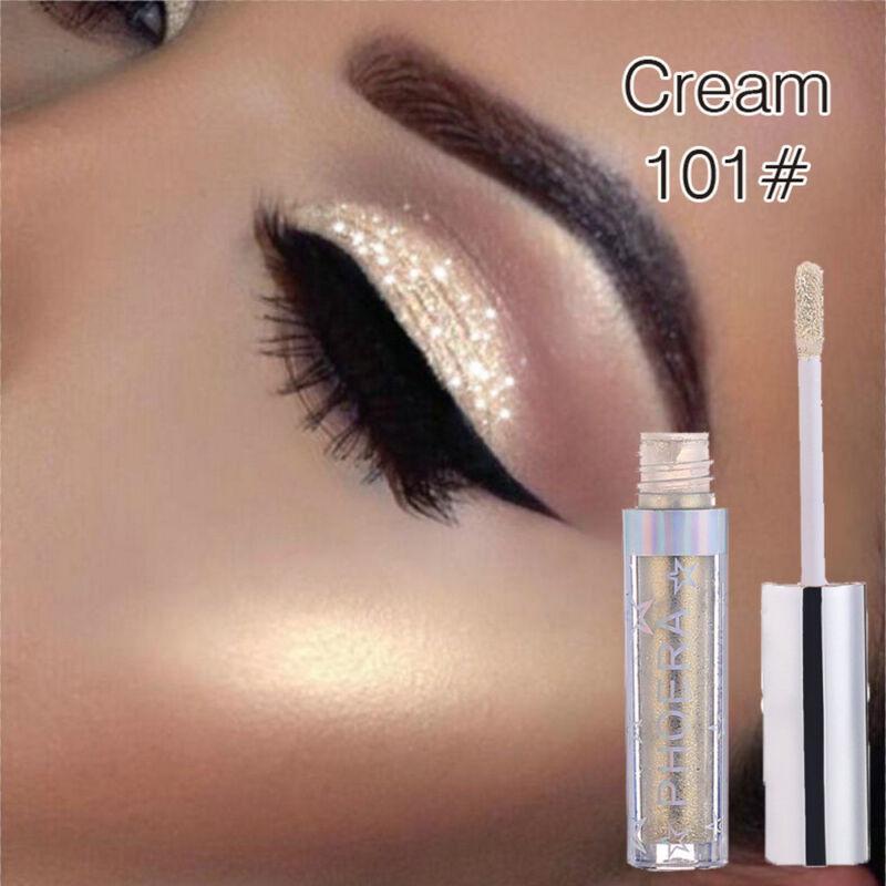 12colors Eyeshadow Liquid Waterproof Glitter Eyeliner Shimme