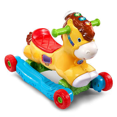 VTech Gallop & Rock Learning Pony Interactive Ride-On Toy