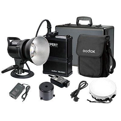 2016 UK Godox 600W Li-ion Battery Portable Outdoor Studio Flash Strobe Light Kit